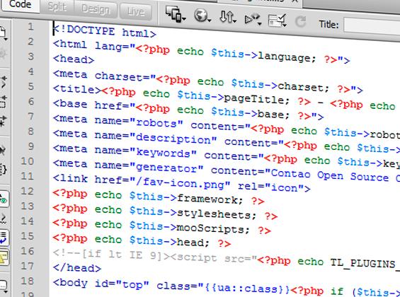 Zoekmachine vriendelijke url & HTML structuur
